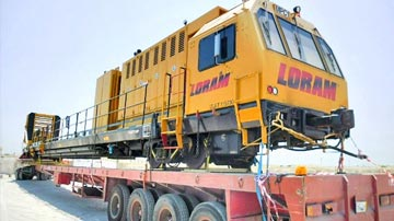 Railgrinder to Saudi Arabia