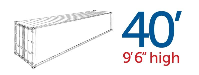 High Cube General Purpose 40′