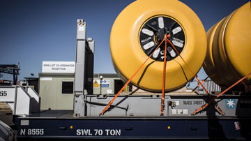 Giant buoyancy modules from the UK to Turkey
