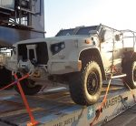Military Vehicle Loaded