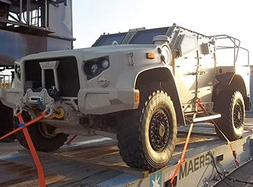 Military Vehicle to UAE