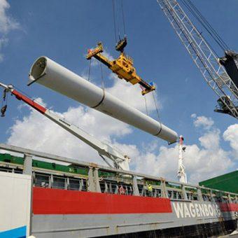 Vesta Wind Turbines to Chile
