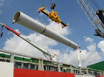Vesta Wind Turbines to Chile