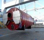 Power generation boiler shipping