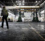 Inside Ford Dagenham plant