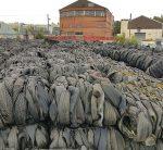 Rubber waste shipment