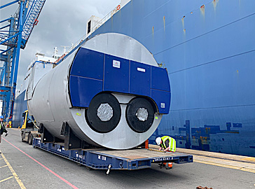 65 tonne Industrial Steam Boilers Shipment