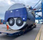 Steam boilers freight