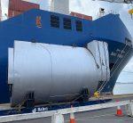 Steam boilers shipment