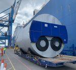 Steam boilers cargo