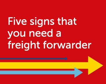 Five signs that you need a freight forwarder